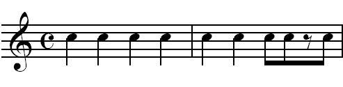 Cliche rhythm 1