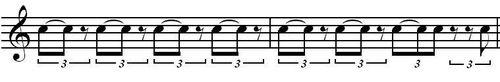 Cliche rhythm 2