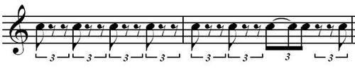Cliche rhythm 3