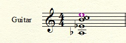 Guitar example 1
