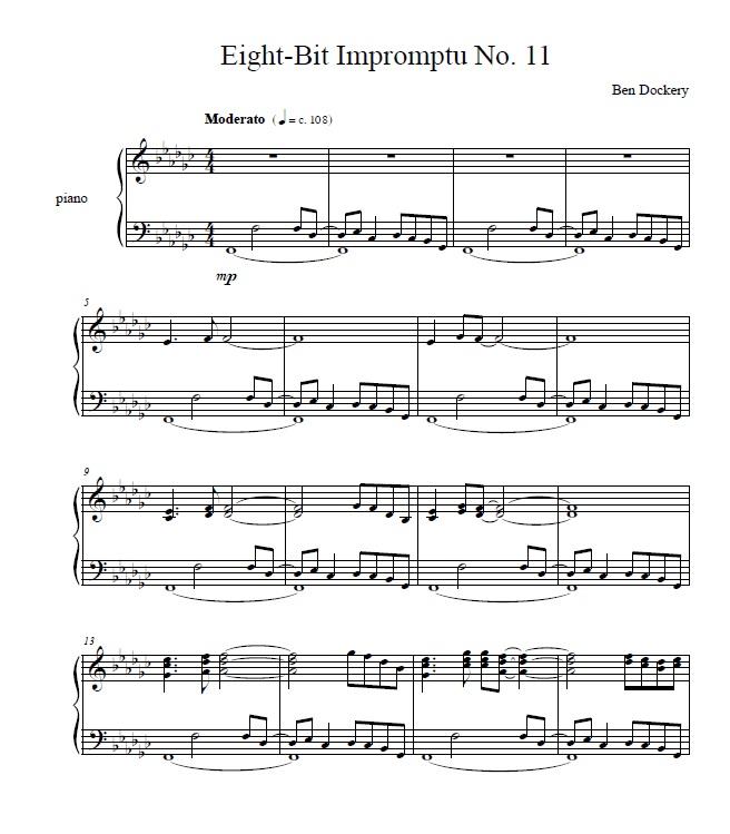 Eight-Bit Impromptu No. 11-1