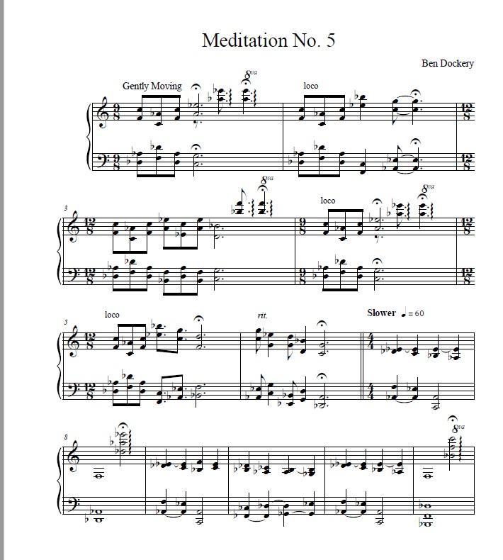 Meditation No. 5 p1